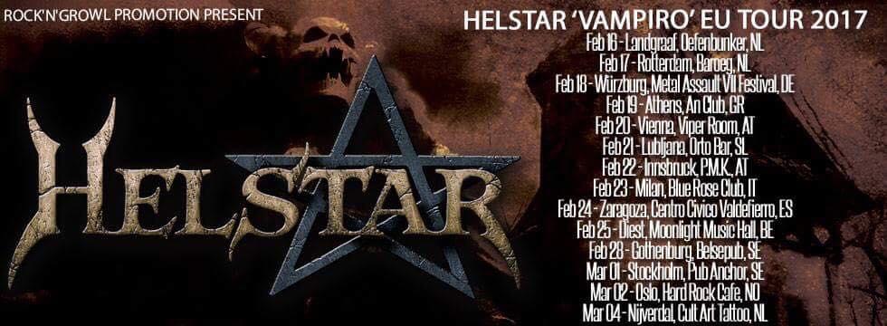 Concierto de Helstar en Zaragoza