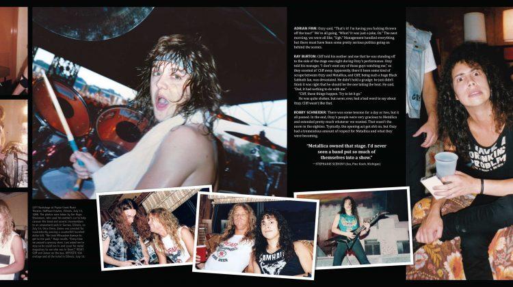 """Back to the front"" la historia visual autorizada del álbum y la gira Master of Puppets"