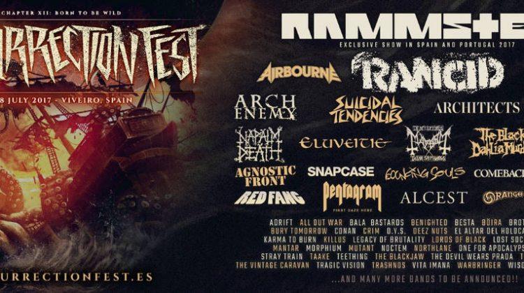 Nuevas bandas confirmadas para el Resurrection Fest'17