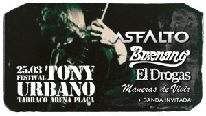 Nace el I festival Tony Urbano en Tarragona