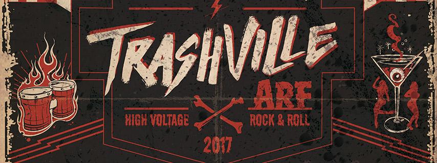 ARF presenta Trashville, un nuevo espacio que acogerá shows incendiarios de garaje, punk y rock
