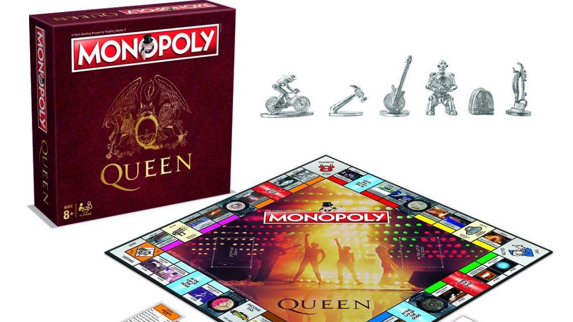 Muy pronto a la venta el Monopoly de Queen