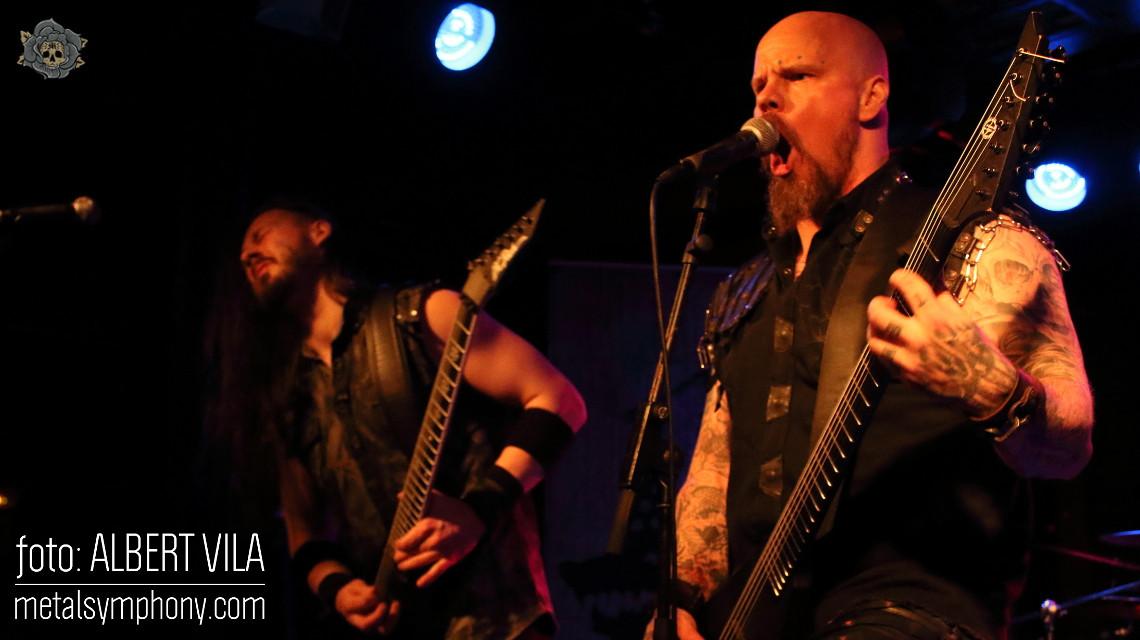 Barcelona ardió con el metal invernal de Wolfheart