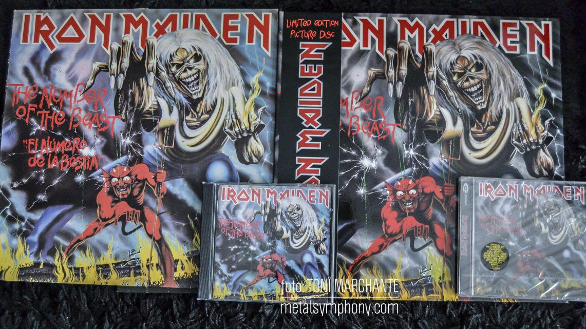 "Iron Maiden: 35 Aniversario de ""The Number of the Beast"""