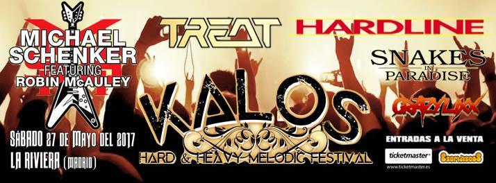 Detalles de la primera edición del Kalos – Hard & Heavy Melodic Festival en Madrid