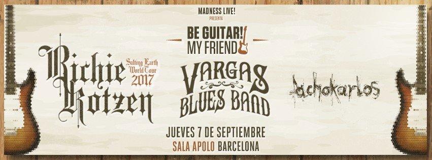 Detalles del BE GUITAR! MY FRIEND en Barcelona...