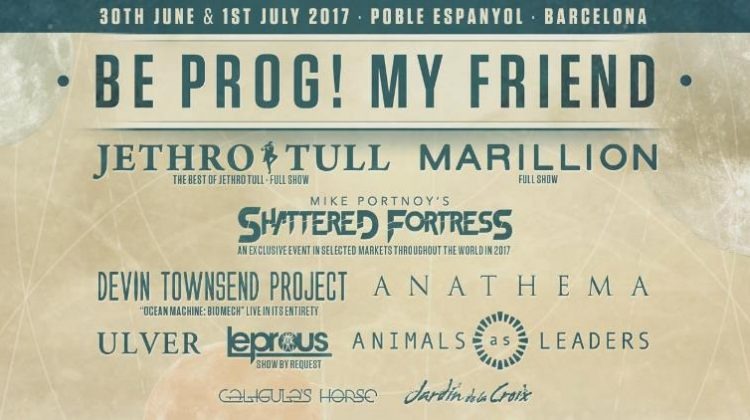 Horarios del Be prog! my friend... fest'17