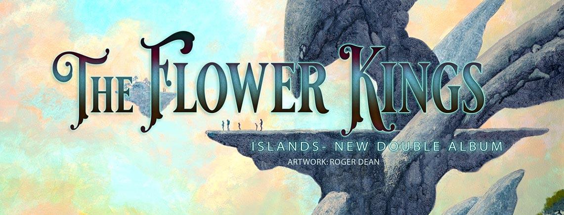Temas y adelanto del nuevo disco de The Flower Kings, «Islands»
