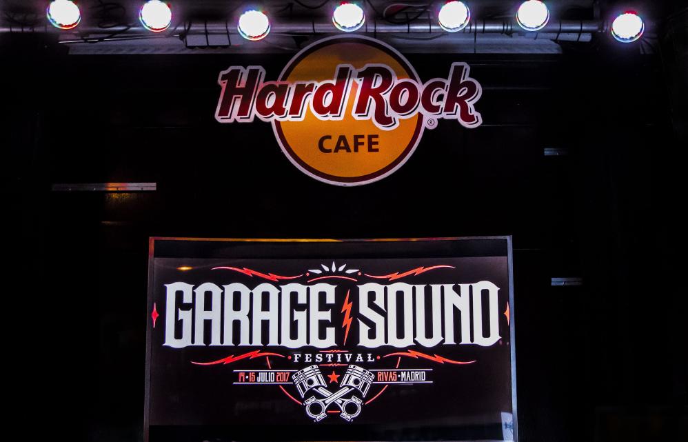 Presentación en Madrid del Garage Sound Fest'17
