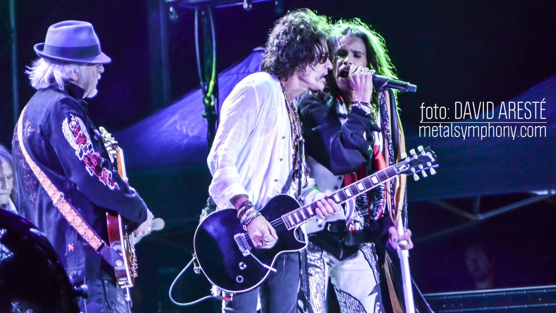 Detalles del concierto de Aerosmith en Madrid
