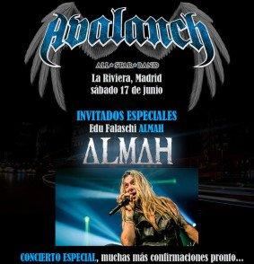 Estos serán algunos de los invitados del concierto de Avalanch en Madrid