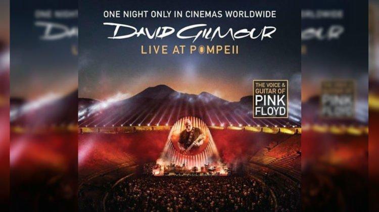 David Gilmour desde Pompeia, en el cine...