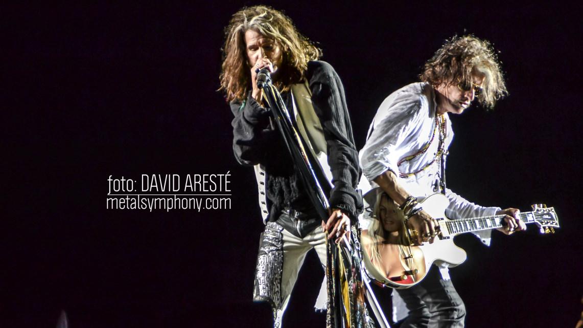 Aerosmith hace olvidar el inicio lluvioso del Sweden Rock'17