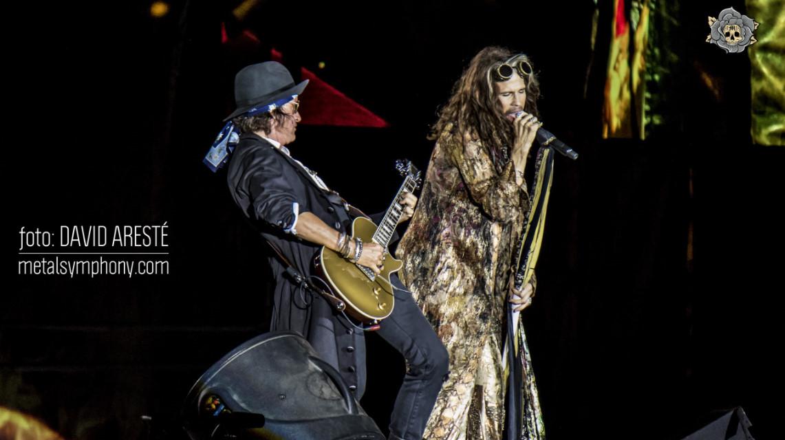 La «despedida» de Aerosmith pone la firma a un gran Rock Fest BCN