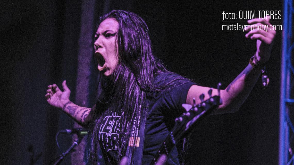 El calor no pudo contra la noche de Thrash Metal en Reus liderada por Nervosa