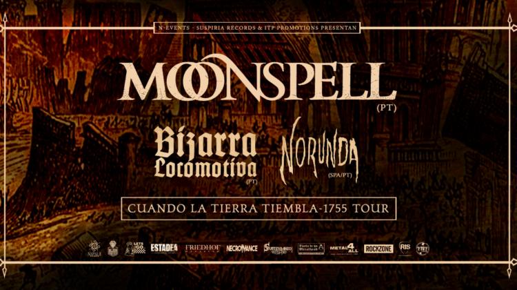 Moonspell en gira por España