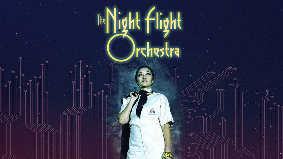 The Night Flight Orchestra : Amber  Galactic // Nuclear Blast