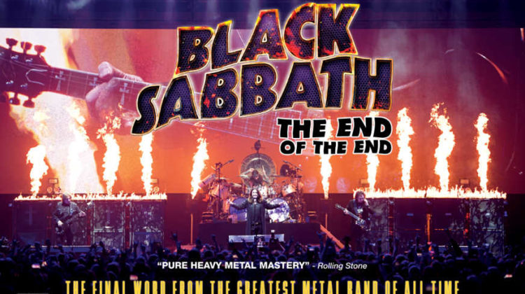 "Gana una entrada de cine para ir a ver ""Black Sabbath: The End Of The End"""