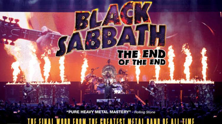 """Gana una entrada de cine para ir a ver """"Black Sabbath: The End Of The End"""""""