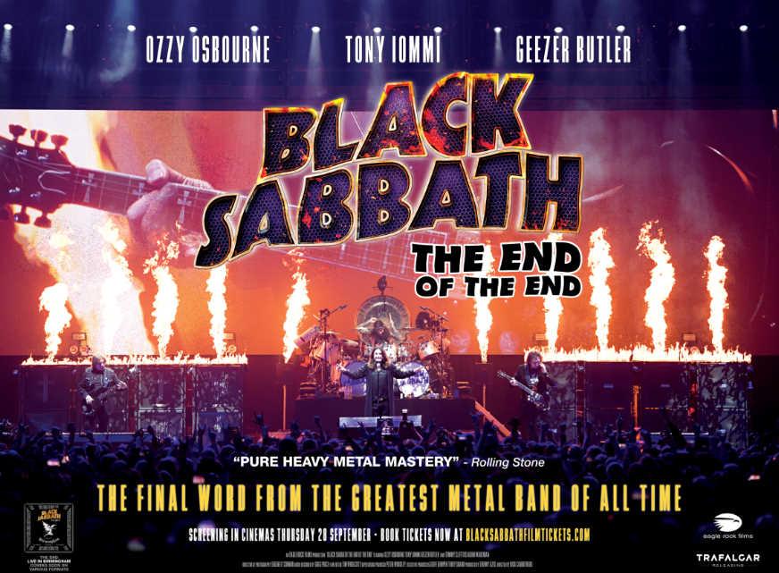Gana una entrada de cine para ir a ver «Black Sabbath: The End Of The End»