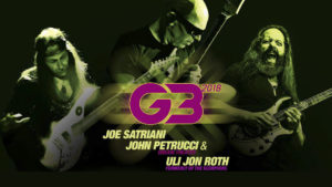 Setlist de la gira del G3'18