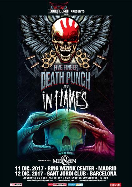 Gira española de Five Finger Death Punch