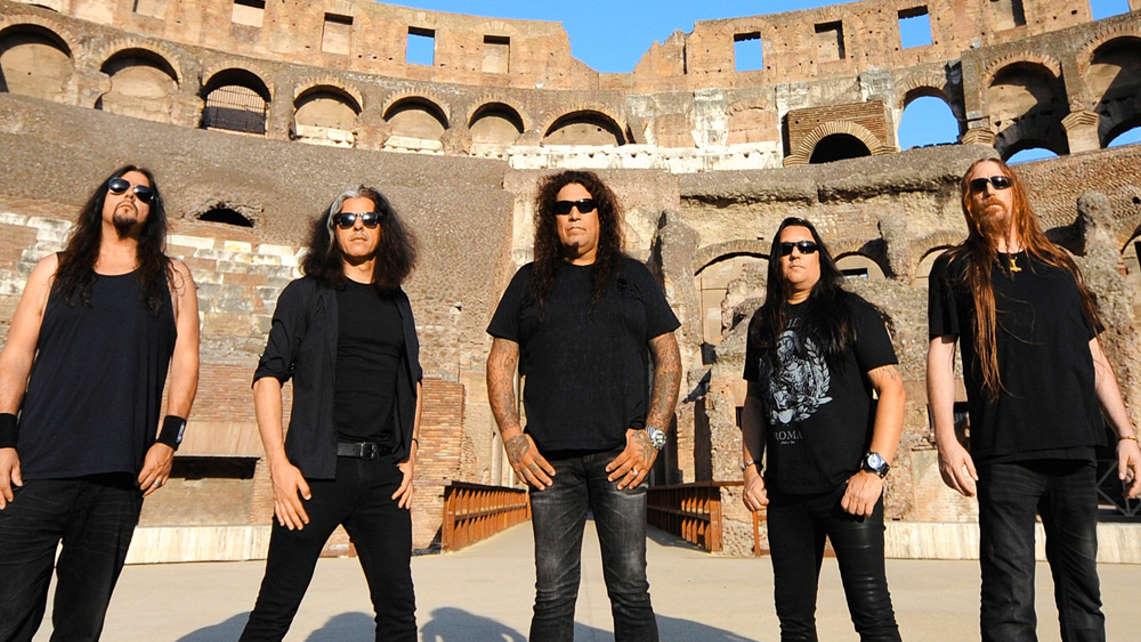 A menos de una semana para el concierto de Testament en Madrid