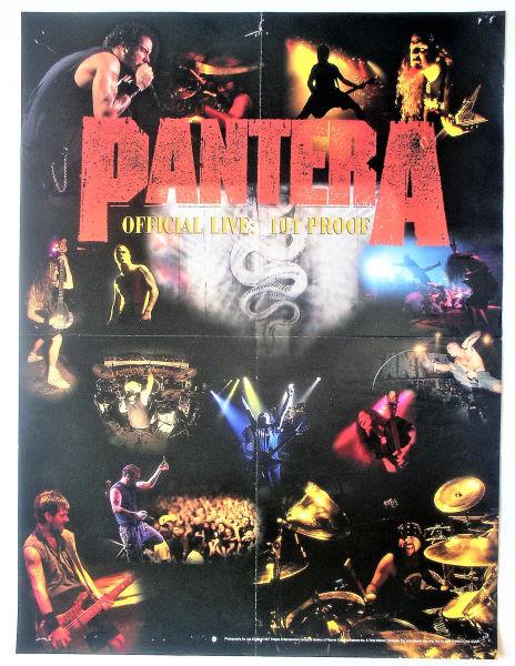 Pantera-Live-Poster