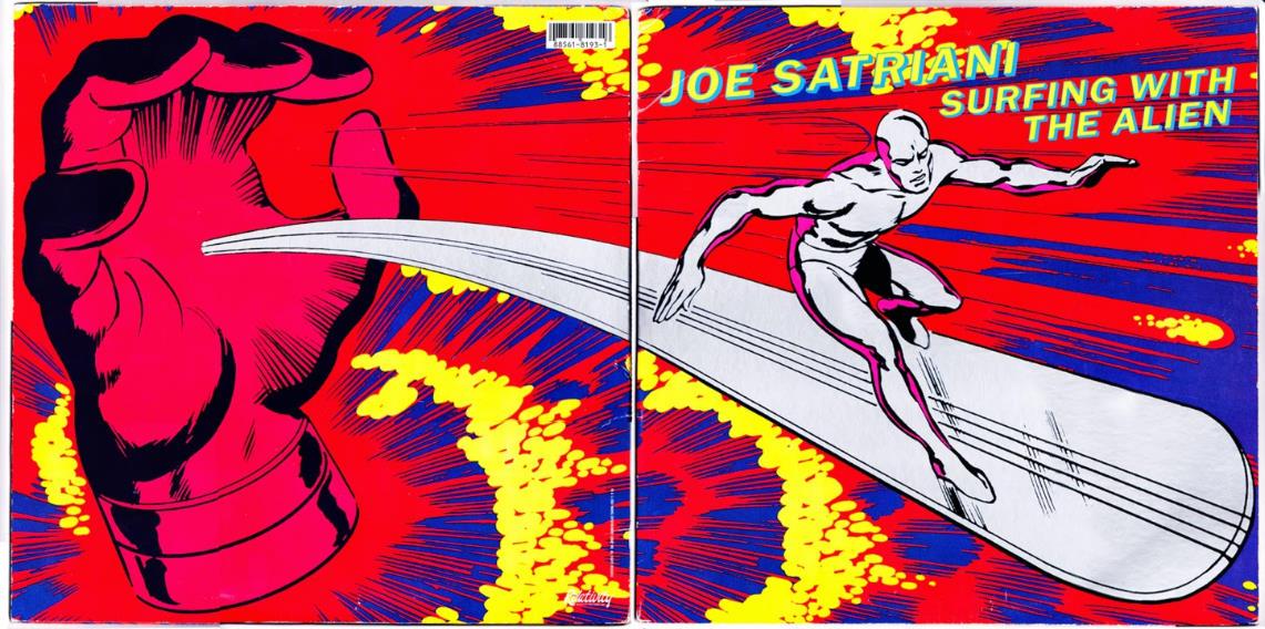 Joe Satriani, 30 años surfeando con el alien