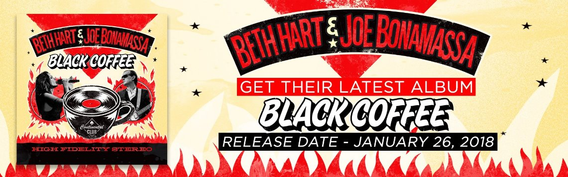 Beth Hart & Joe Bonamassa: Black Coffee // Mascot Label Group