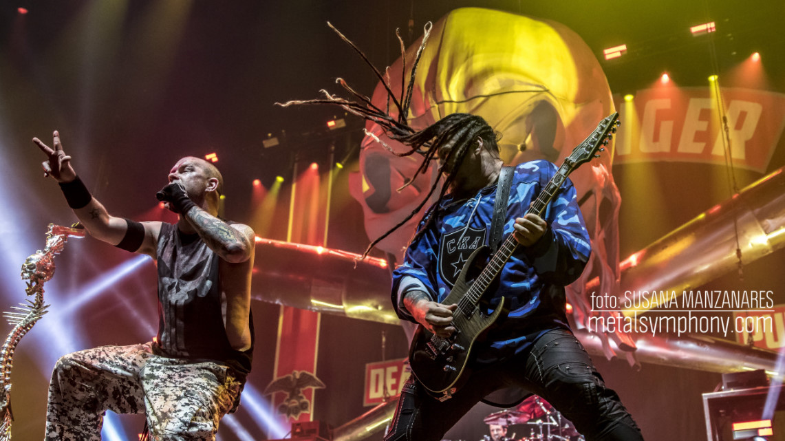 Five Finger Death Punch e In Flames nos regalaron un espectáculo memorable