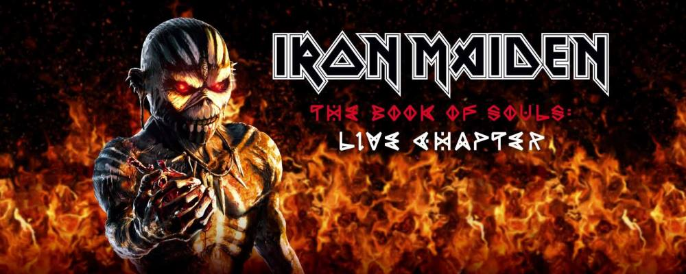 Iron Maiden: The Book of Souls - Live Chapter // Parlophone