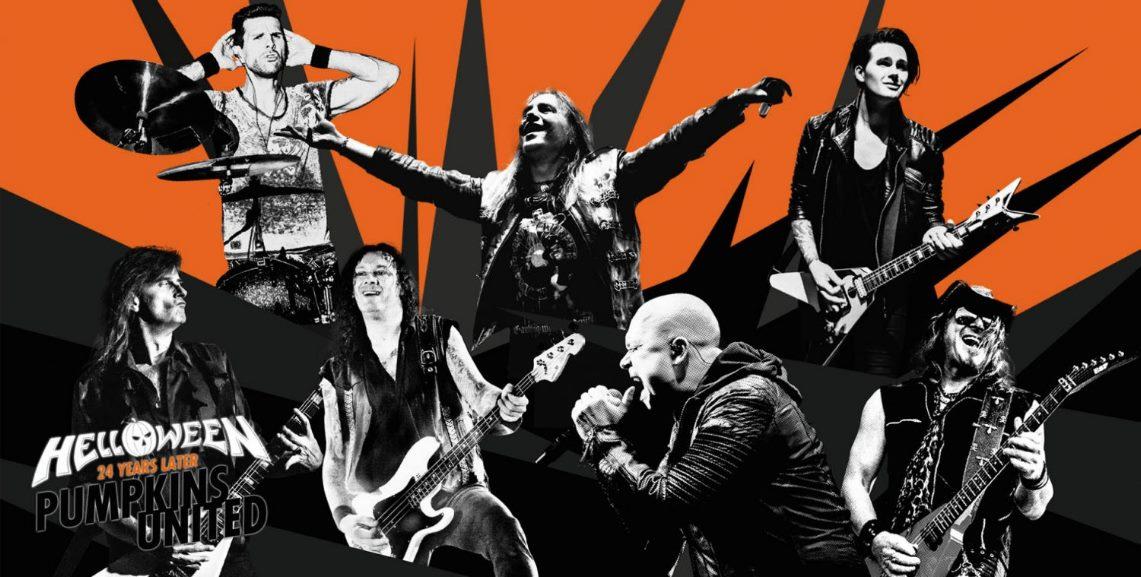 Helloween «Pumpkins United» grabarán su concierto de Madrid