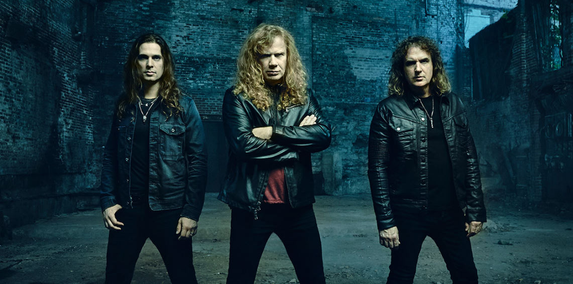 Megadeth abrirá para KISS en Madrid
