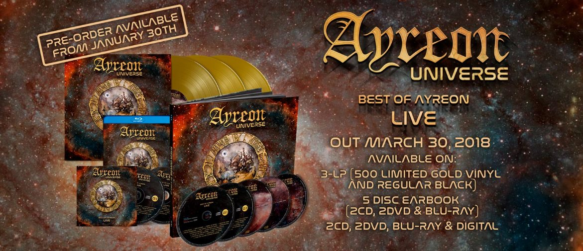 Ayreon Universe: The best of Ayreon live // Mascot Records