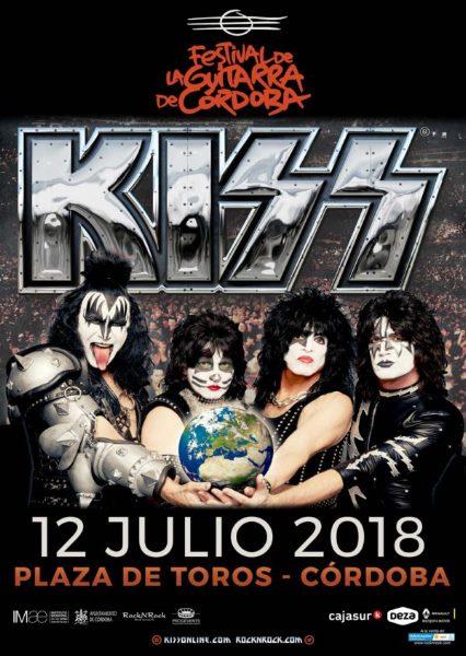 KISS en el El 38º Festival de la Guitarra de Córdoba