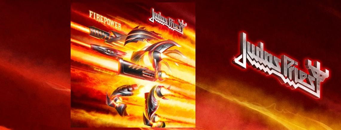 Judas Priest: Firepower // Columbia/Sony Records