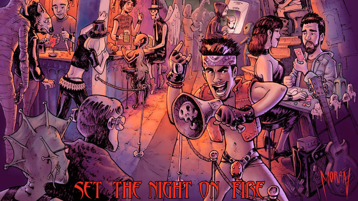 Wild Freedom: Set the night on fire // The fish factory