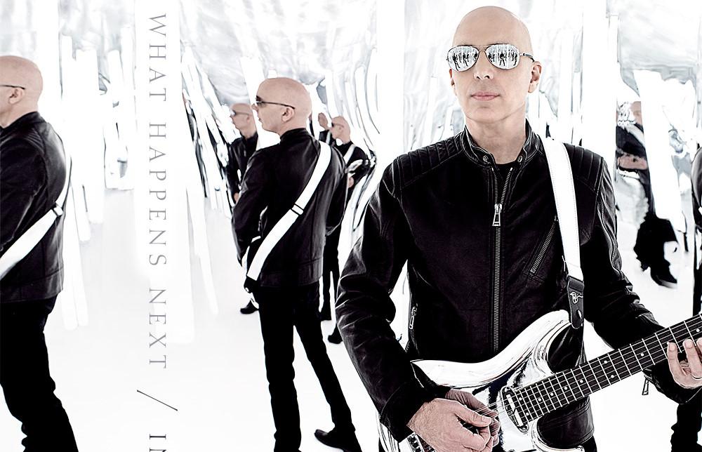 Joe Satriani: What Happens Next // Sony/Legacy