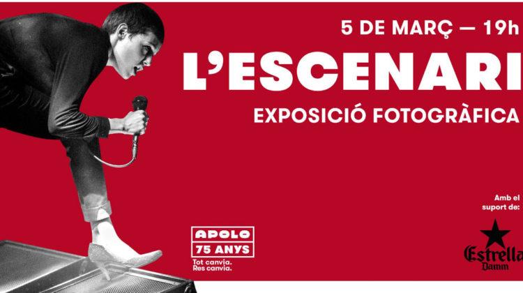L'escenari, exposición fotográfica disponible a partir del próximo 5 de Marzo