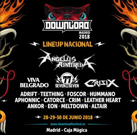 Download Festival Madrid anuncia su tanda de bandas nacionales