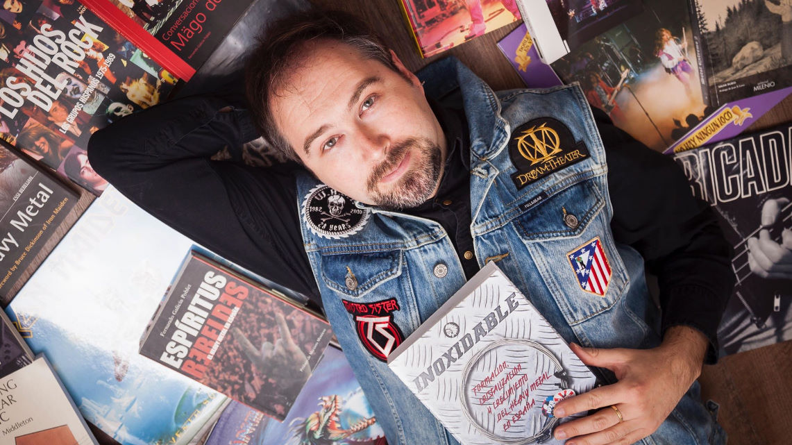 Entrevista a Fernando Galicia Poblet sobre «Inoxidable…»