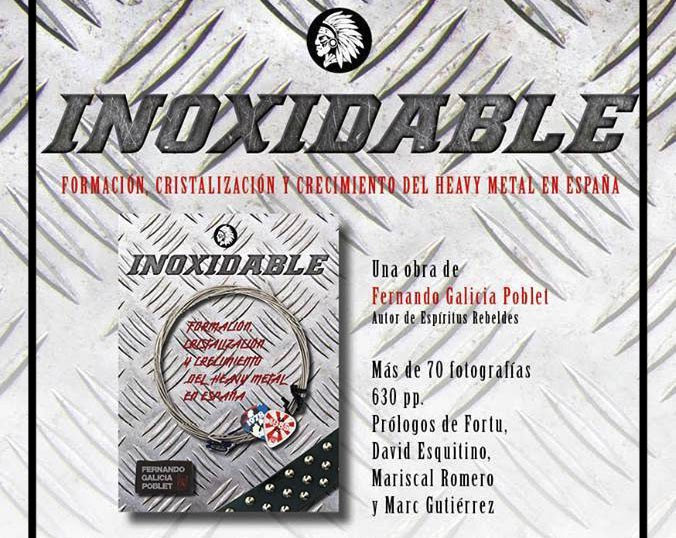 "Entrevista a Fernando Galicia Poblet sobre ""Inoxidable..."""