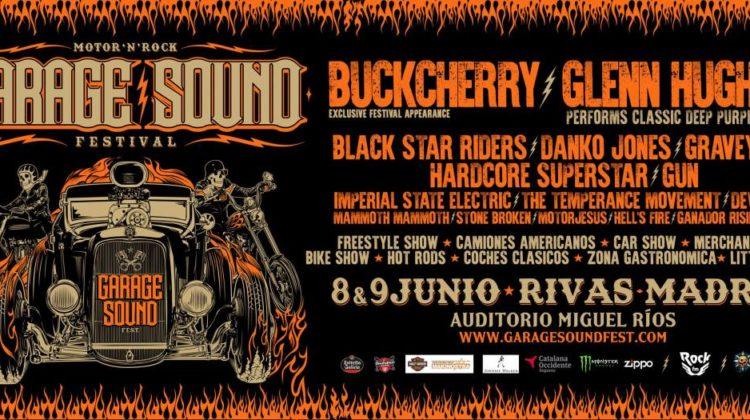 Horarios del Garage Sound Fest'18
