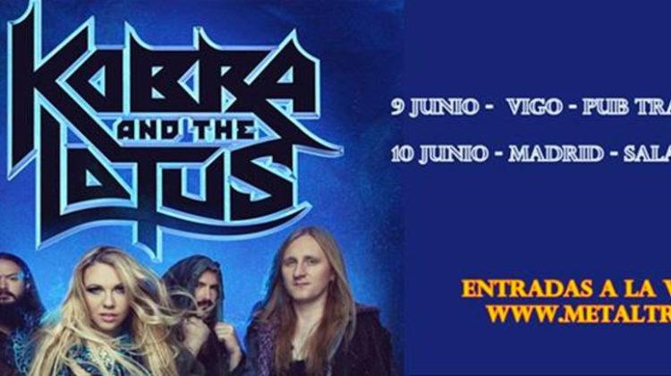 Gira española de Kobra & the Lotus
