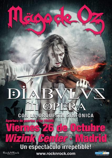 Nueva fecha para el concierto de Mägo de Oz en Madrid con orquesta sinfónica