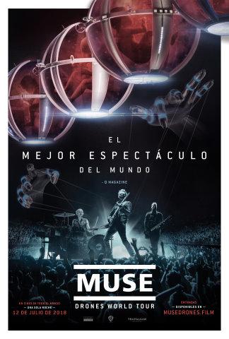 """""""Muse: Drones World Tour"""" en cines el próximo mes de Julio"""