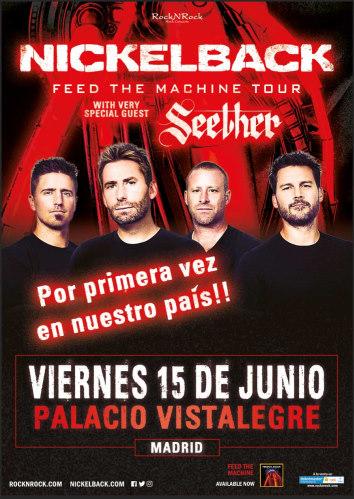 Nickelback llega este viernes a Madrid