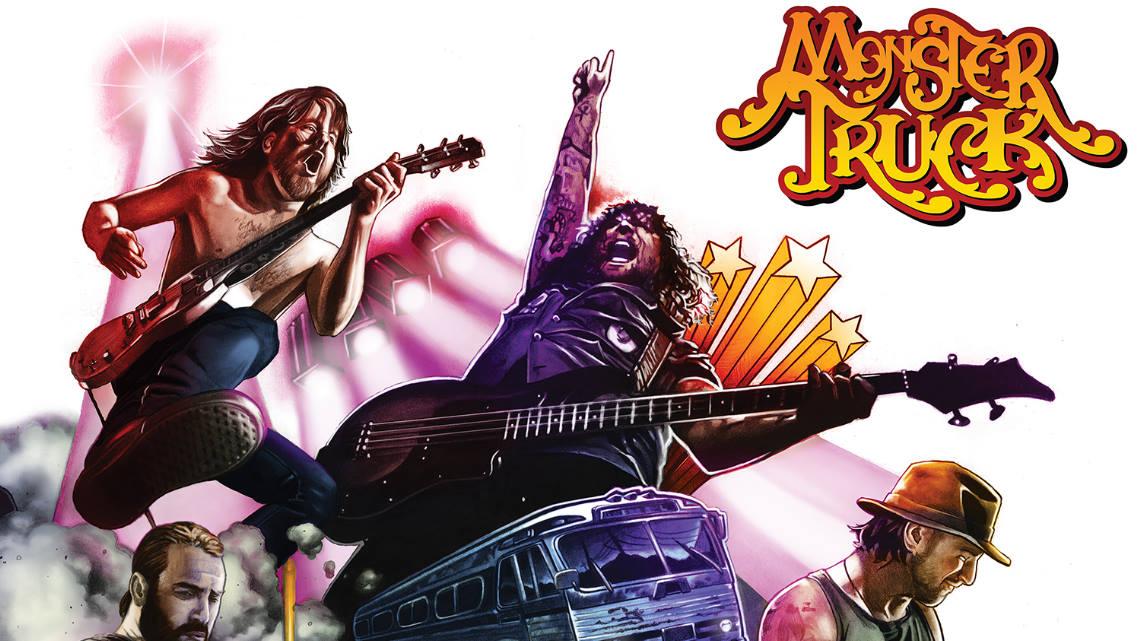 Adelanto del próximo disco de Monster Truck, «True Rockers»