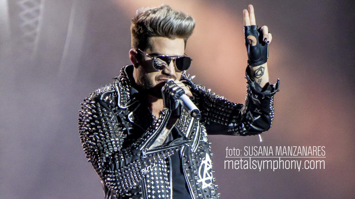 Magnífico homenaje a Mercury por parte de Adam Lambert y el 50% de Queen